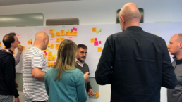 Alberto Brandolini during the EventStorming Master Class