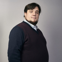Portrait photo of Alexander, digital analyst at PENCIL42