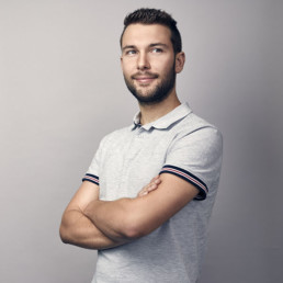 Portrait photo of Christiaan, digital analyst at PENCIL42