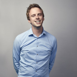 Portrait photo of Maarten, software engineer at PENCIL42
