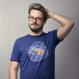 Portrait photo of Stéphane, software architect at PENCIL42